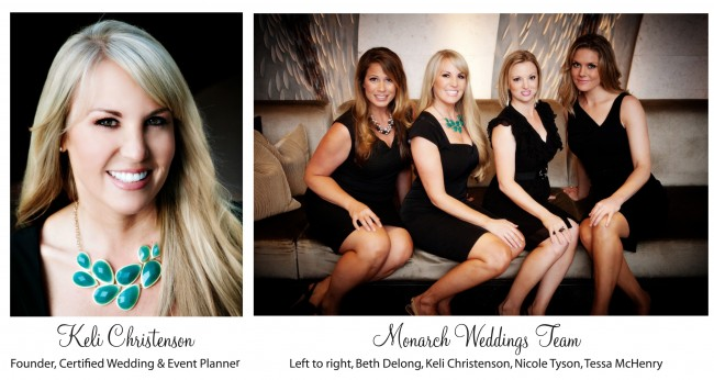 Keli Christenson Monarch Weddings Team