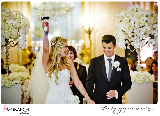 Ceremony-shot-orchids-blush-french-vintage-wedding-westgate-hotel