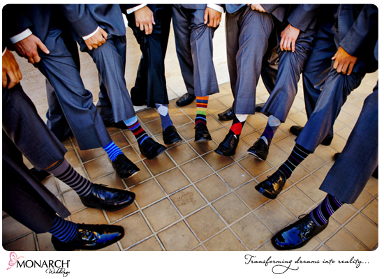 Groomsmen-argyle-socks-westgate-hotel-wedding