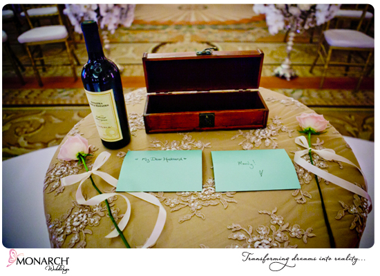 wine-ceremony-french-vintage-wedding-westgate-hotel