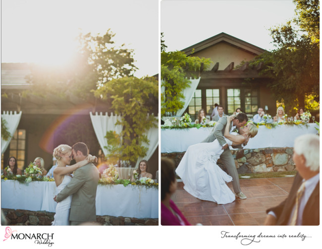 First Dance Rustic Shabby Chic Wedding Del Sur