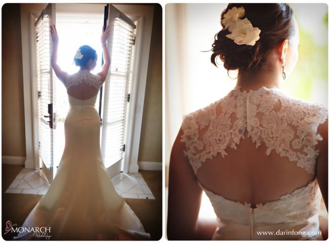 Lace-wedding-dress-la-valencia-hotel-wedding