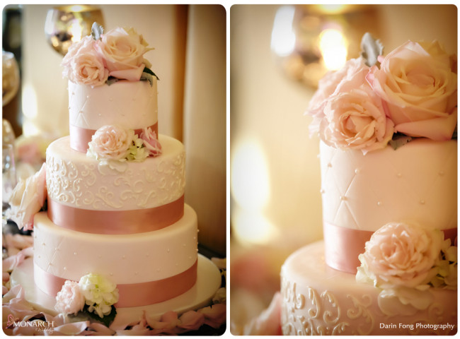 Blush-black-white-wedding-at-La-Valencia-Cake-Sweet-cheeks