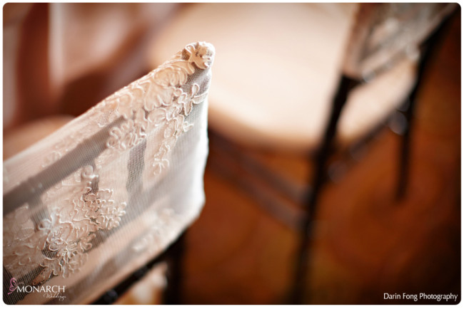 Blush-black-white-wedding-at-La-Valencia-Lace-chair-covers