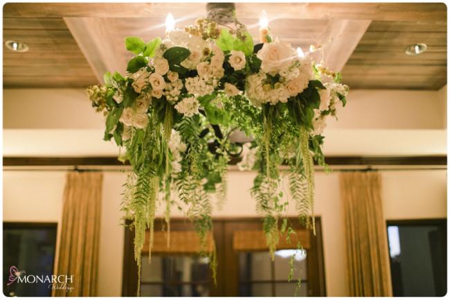 Rustic-garden-chic-wedding-garden-floral-chanderlier