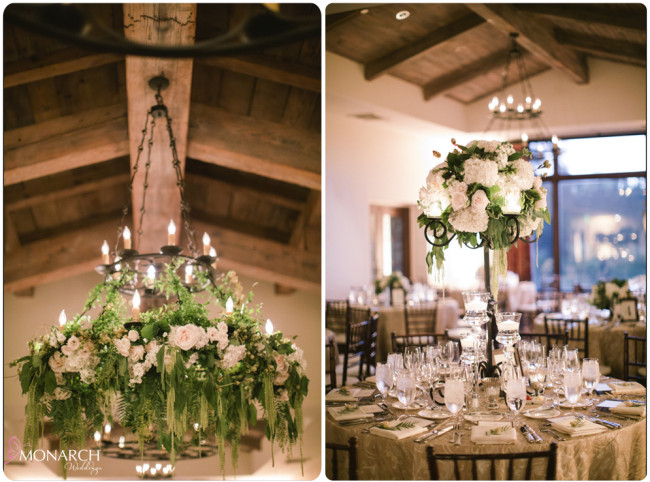 Garden-chic-wedding-floral-chandelier-rod-iron-candelabra-centerpiece