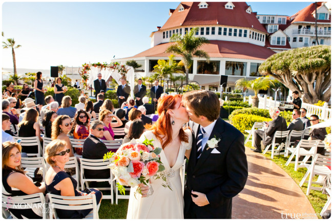 Vintage Nautical Wedding Hotel Del Bride And Groom