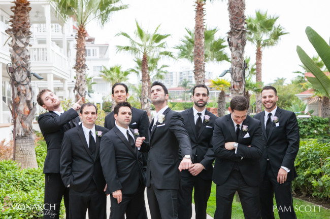 Fun-groomsmen-photos-hotel-del-coronado-wedding