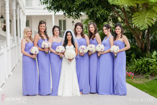 Violet-purple-bridesmaids-dresses-hotel-del-coronado-wedding