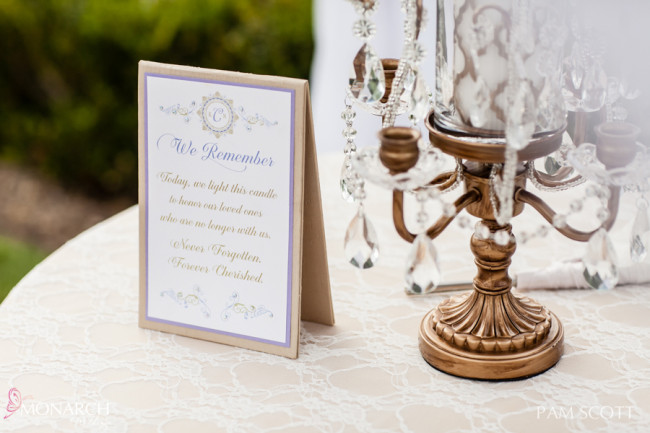 Memorial-Candle-during-ceremony-hotel-del-coronado-wedding