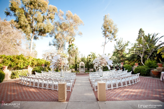 Wishing Well Ceremony Prado Balboa Park Wedding San