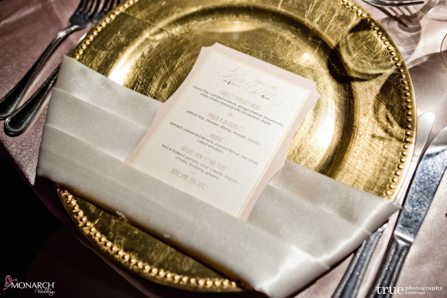 Prado-at-balboa-park-wedding-blush-linen-gold-charger-plate