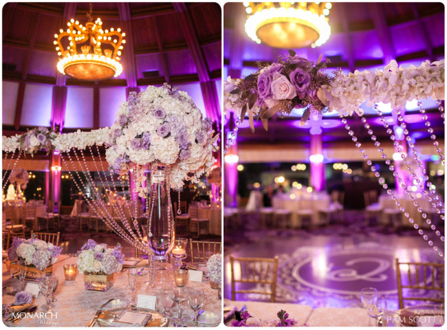 beautiful-headtable-crystals-hotel-del-wedding-lace-linen-san-diego-wedding-planner