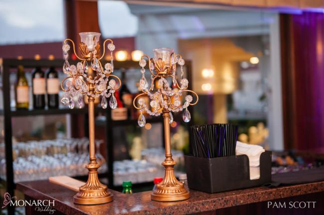 Gold-crystal-candles-hotel-del-wedding-san-diego-wedding-planner