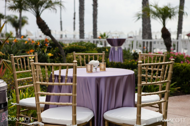 Gorgeous Gold, Lovely Lace and Lavender Wedding at Hotel Del | San ...