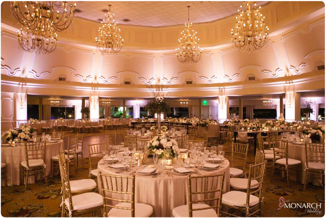 Blush Uplights Linen Hotel Del Coronado Wedding